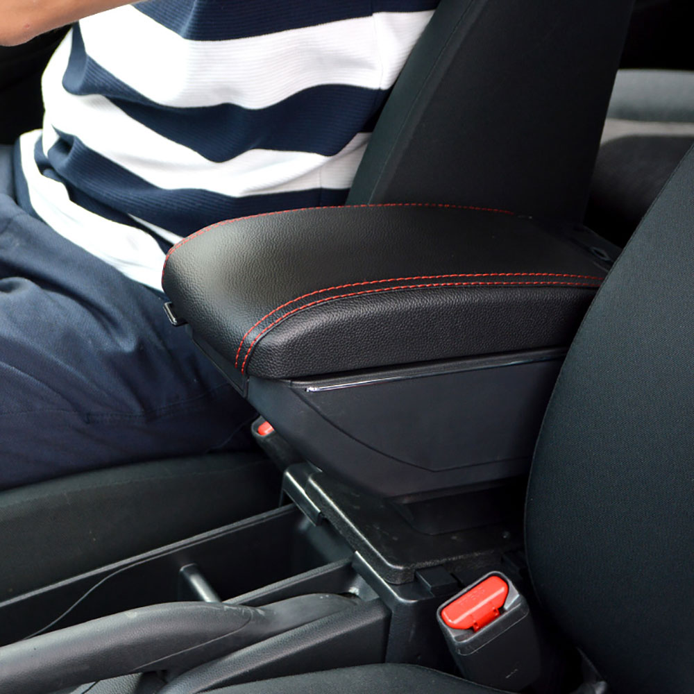 The armrest console storing box CARARBOX car car rear seat driver's seat  Rakuten first place for the DIY car