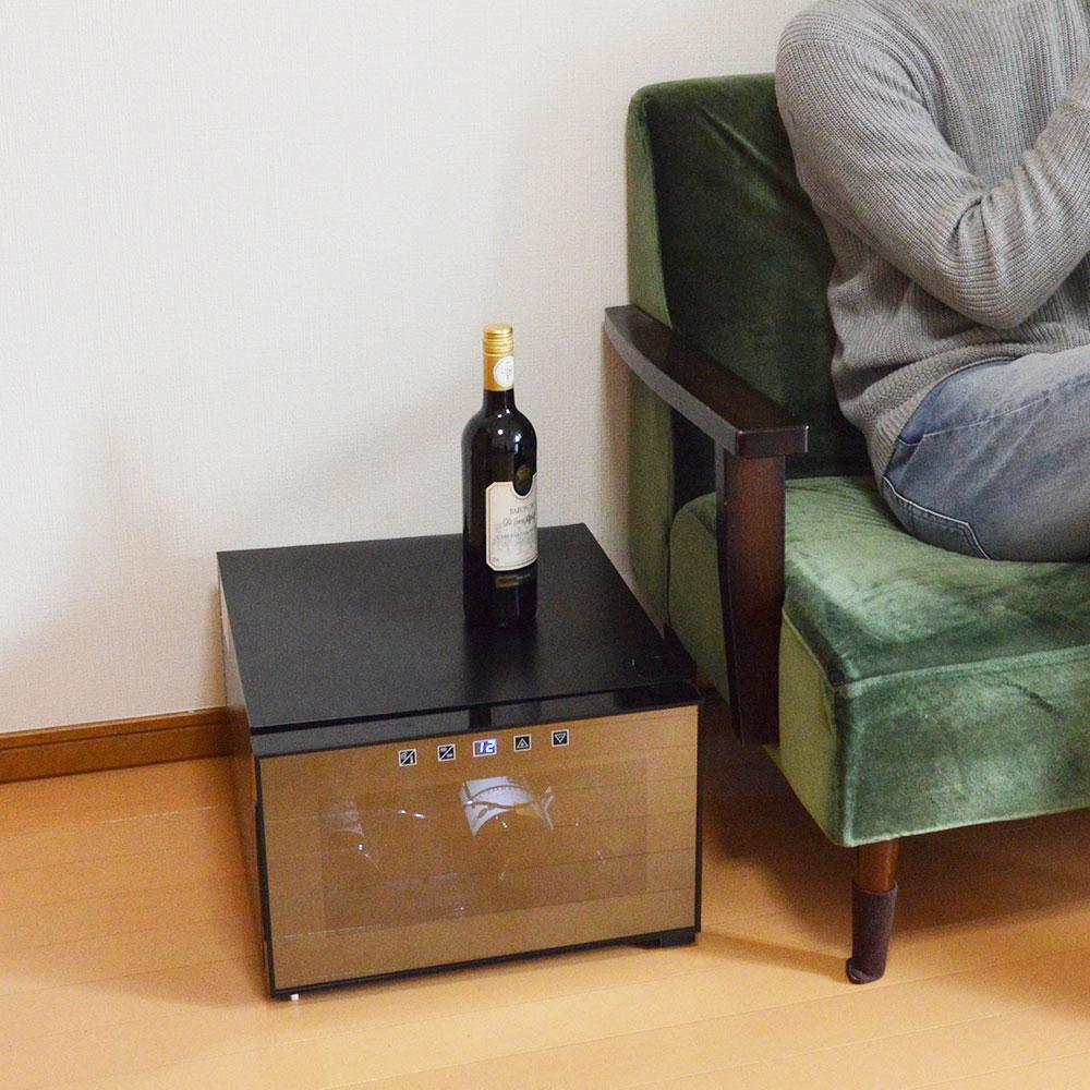 \最大2000円OFFクーポンセール /★価格改定★場所を選ばない横置きワインセラー「俺のワイン」WINECL02 おひとり様用 ワイン好き 保存 保冷 保管 レストラン 自宅ワイン 日本酒 焼酎 新生活