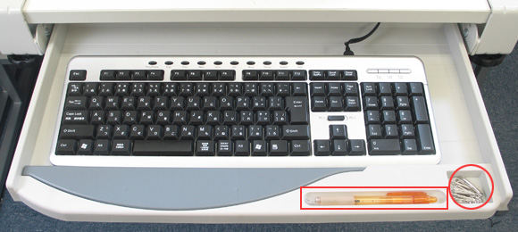 扣子式键盘托盘KEYBTRAY ※有日语指南   ※进货了!