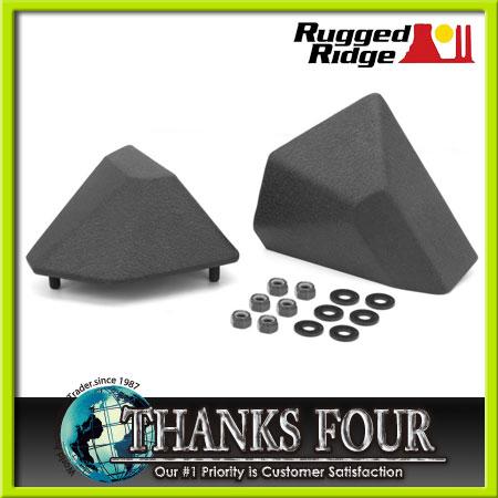 Rugged Ridge(ラギッドリッジ)STUBBY ENDS XHD FRONT BUMPER(スタビエンドXHDフロントバンパー)TEXTURED BLACK(テクスチャーブラック)07-16y JEEP WRANGLER JK#RR11540.23【サンクスフォー】