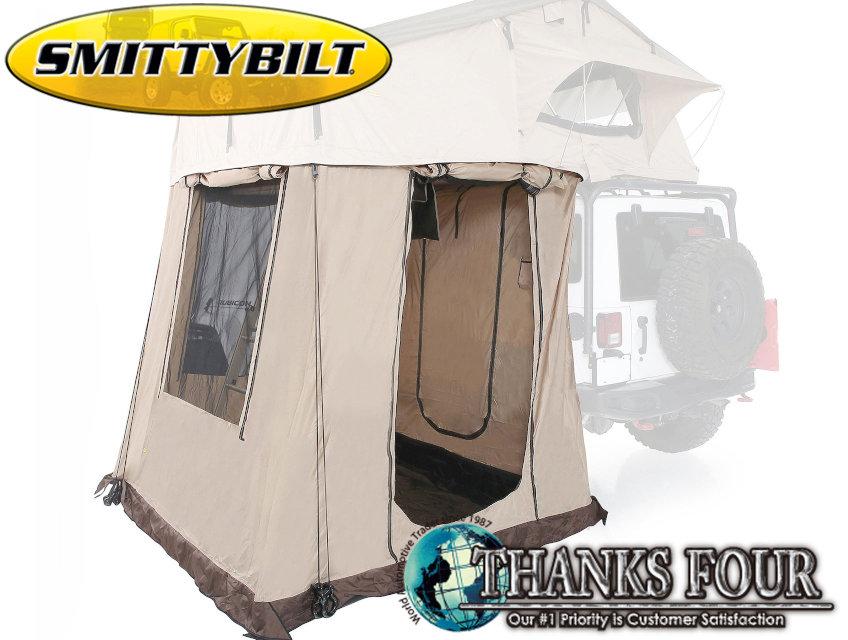 【 SB2883用 】Roof Top Tent Annexルーフトップテント アネックス床縦:2362mm床横:2083mm高さ:2159mm※ オーバーランダールーフテントXL用P/# SB2888【 SMITTY BILT / スミッティビルト 】