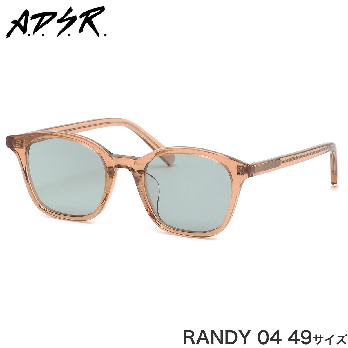 A.D.S.R. エーディーエスアール サングラス RANDY 04 49サイズ メンズ レディース