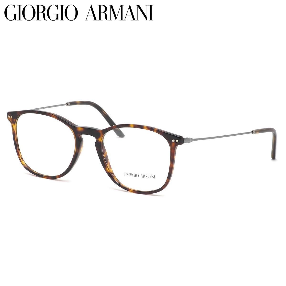 GIORGIO ARMANI ジョルジオアルマーニ メガネ AR7160 5026 53サイズ FRAMES OF LIFE ウェリントンシェイプ コンビネーション ジョルジオアルマーニGIORGIOARMANI メンズ レディース