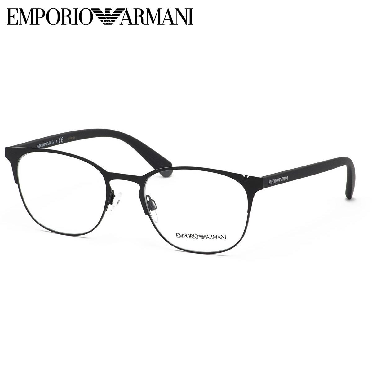 ほぼ全品ポイント15倍~20倍+15倍+2倍 エンポリオアルマーニ EMPORIO ARMANI メガネEA1059 3001 53サイズアイコニックイーグル エンポリオアルマーニ EMPORIOARMANI メンズ レディース
