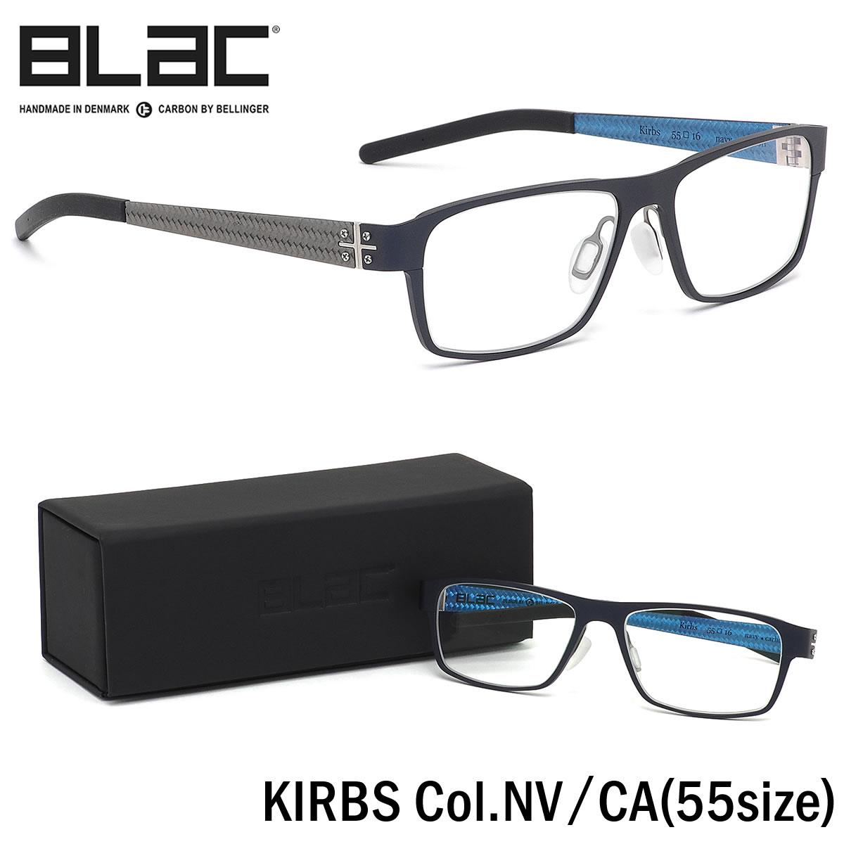 【10月30日からエントリーで全品ポイント20倍】ブラック BLaC メガネKIRBS NV/CA 55サイズKIRBS カーボンファイバー CARBON FIBER ハイブリッド ALU アル アルミニウムブラック BLaC メンズ レディース