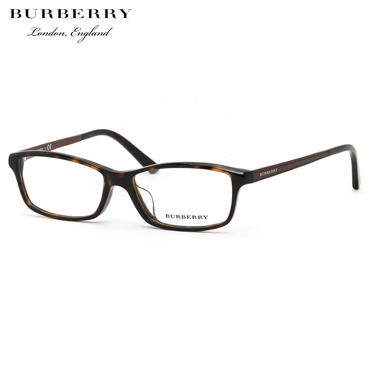 ほぼ全品ポイント15倍~最大43倍+3倍!お得なクーポンも! 【BURBERRY】(バーバリー) メガネ BURBERRY BE2217D 3002 55サイズ スクエア アジアンフィット バーバリー BURBERRY メンズ レディース