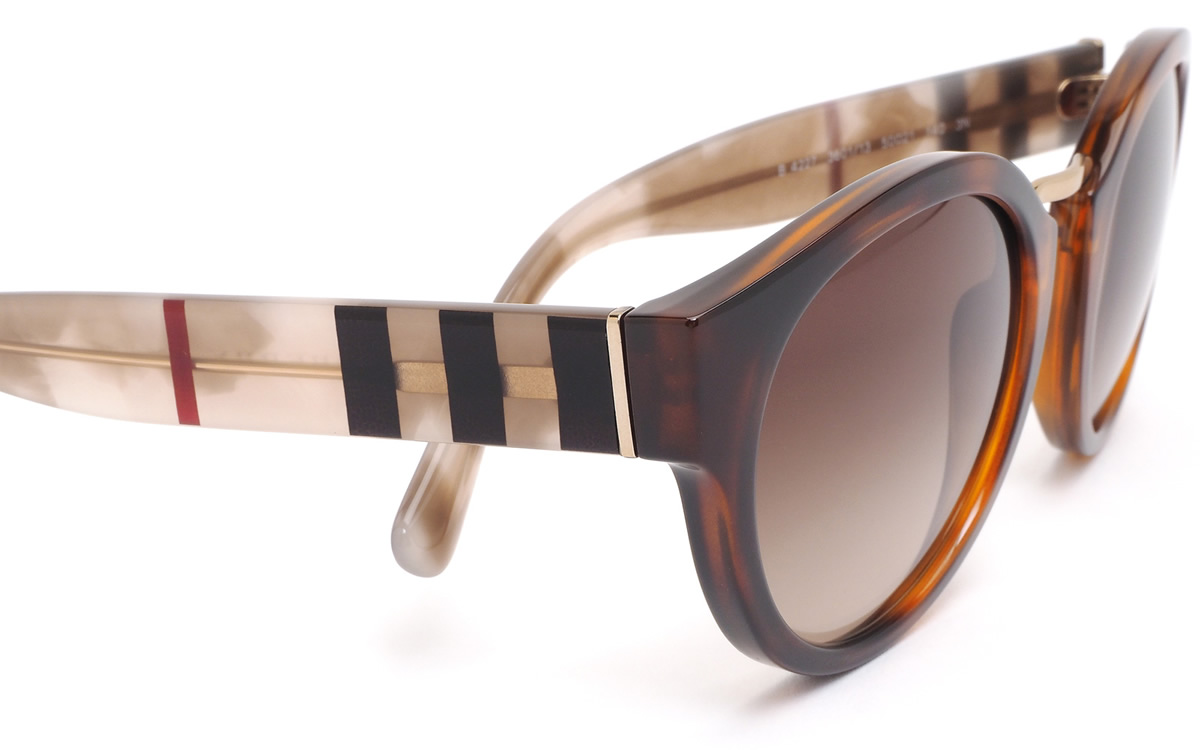 030277884a1 (BURBERRY) sunglasses BE4227 360113 50 size ACOUSTIC Boston round horse  mackerel Ann fitting acoustic Burberry check BURBERRY men gap Dis