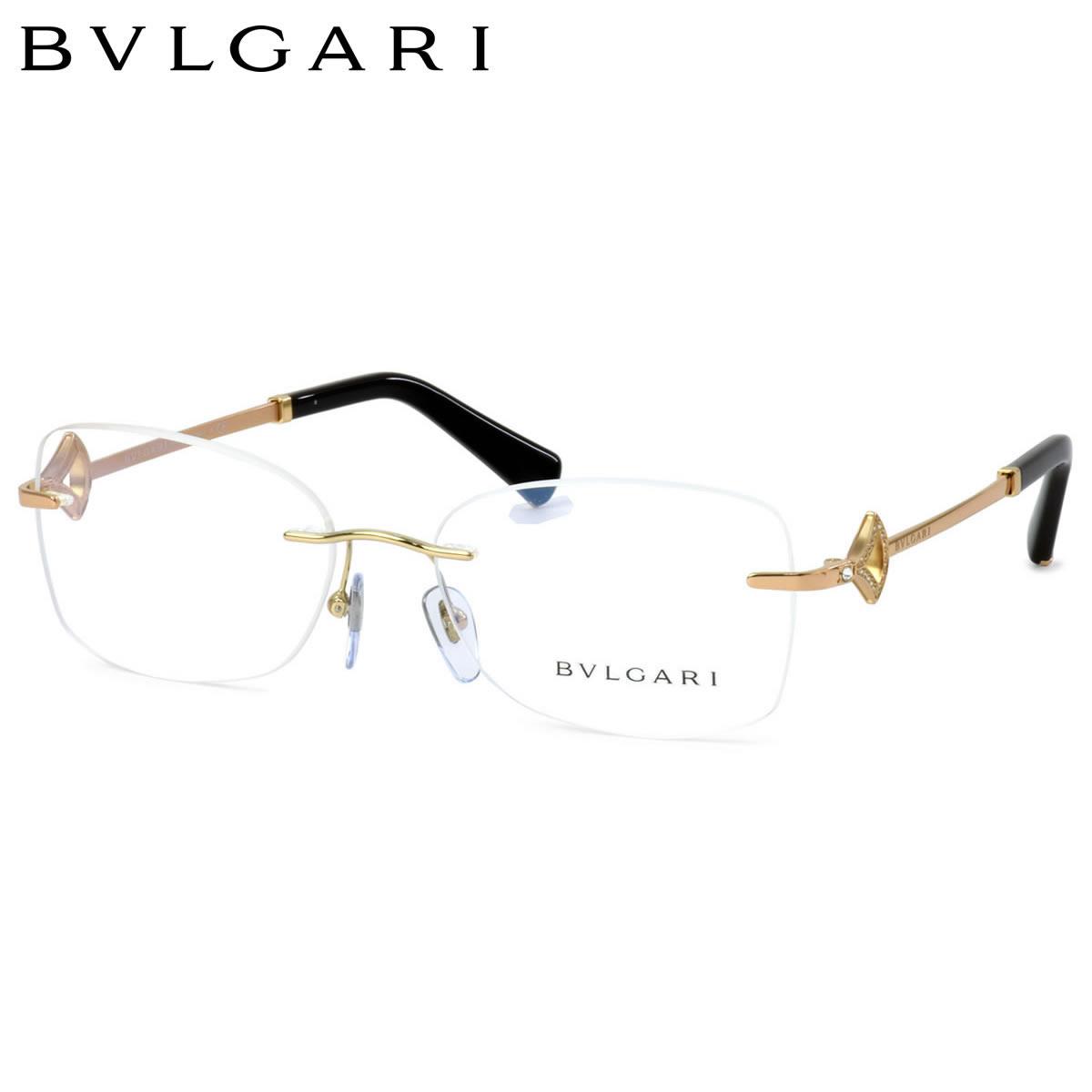 【10月30日からエントリーで全品ポイント20倍】ブルガリ BVLGARI メガネBV2199B 2014 55サイズDIVAS' DREAM ディーヴァドリーム  ツーポイント 縁なしブルガリ BVLGARI レディース