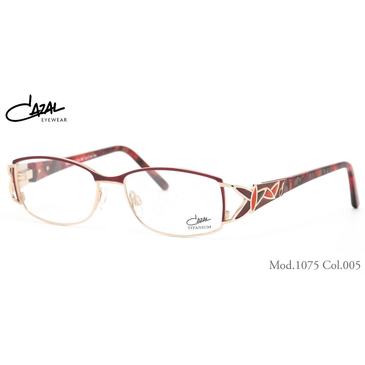 CAZAL カザール メガネ 1075 005 52サイズ CAZAL 伊達メガネレンズ無料 メンズ レディース