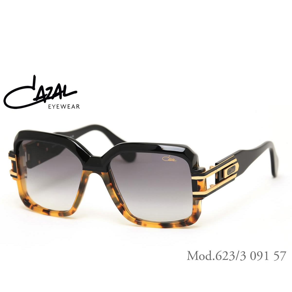 【10月30日からエントリーで全品ポイント20倍】【CAZAL】(カザール) サングラス レジェンズ 623/3 091 57サイズ レジェンド CAZAL LEGENDS 限定生産 デミハーフコレクション メンズ レディース