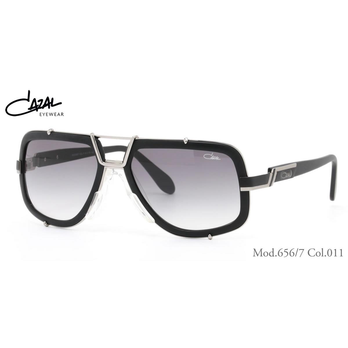 CAZAL カザール サングラス レジェンズ 656/7 011 61サイズ レジェンド CAZAL LEGENDS アジアンフィット メンズ レディース