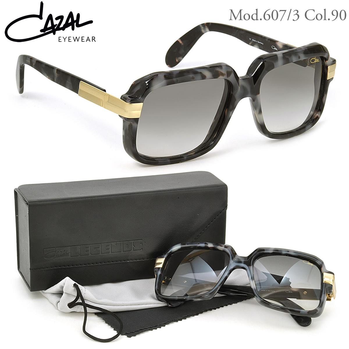 CAZAL カザール サングラス レジェンズ 607/3 90 56サイズ 限定カモフラージュカラー レジェンド CAZAL LEGENDS メンズ レディース