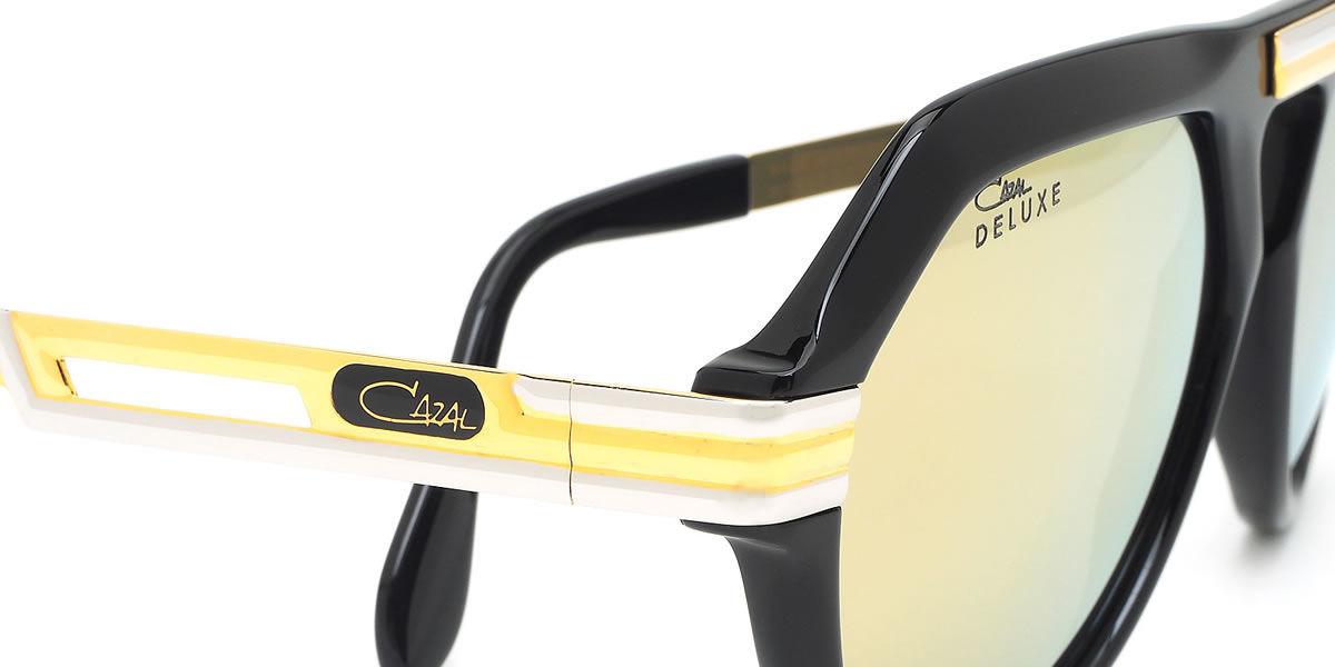0b9a85ad697 (CAZAL) sunglasses 634 3 001 59 size LEGENDS レジェンズ DELUXE deluxe-limited  specifications Limited Edition teardrop mirror lens 24K celebrity CAZAL men  ...