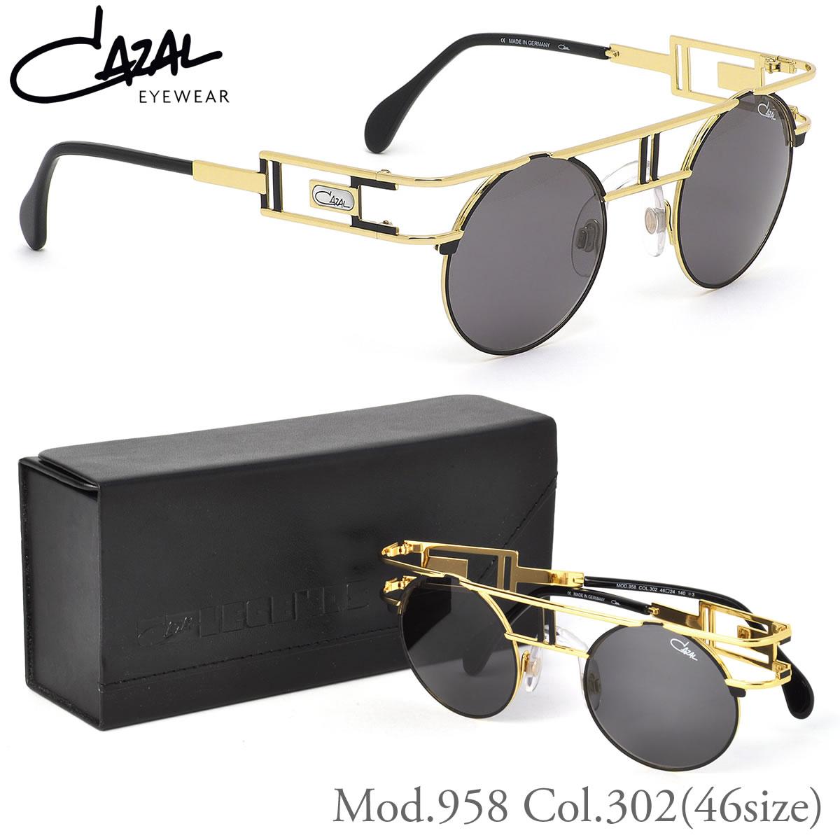 カザール CAZAL サングラス 958 302 46サイズ LEGENDS レジェンズ CAZAL メンズ レディース