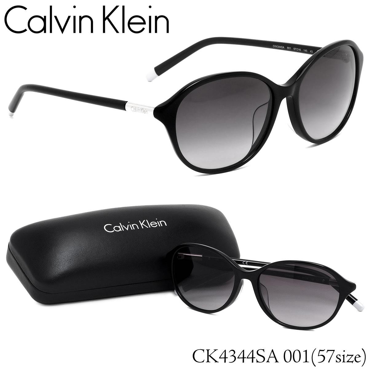 ポイント最大46倍お買い物マラソン8/4 20時スタート!!お得なクーポンも カルバンクライン Calvin Klein サングラスCK4344SA 001 57サイズCK ラウンド フルフィットカルバンクライン CalvinKlein メンズ レディース