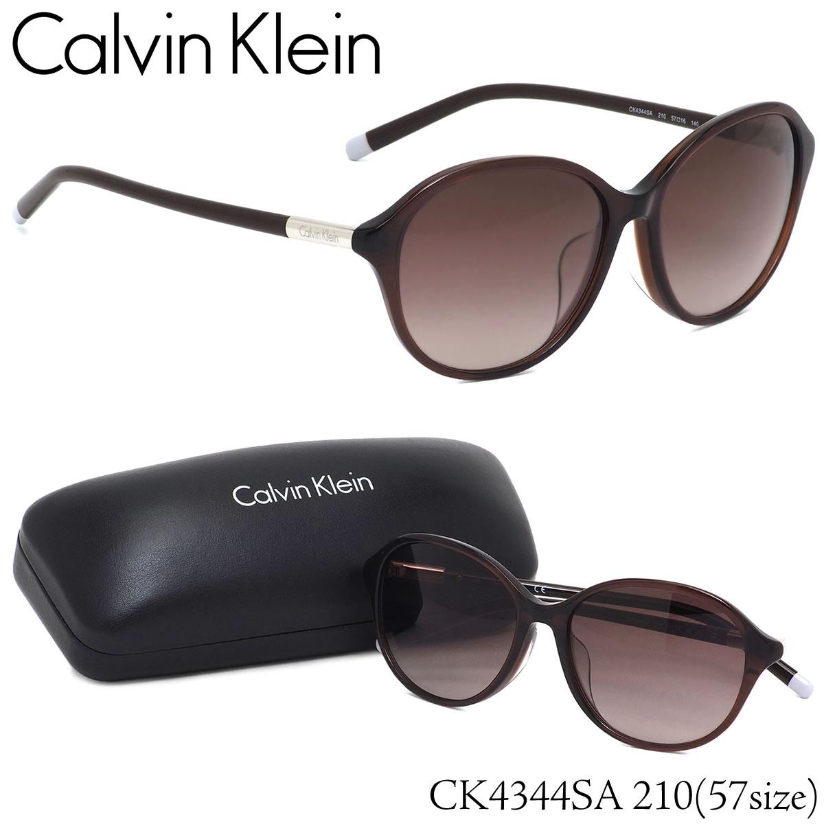 カルバンクライン Calvin Klein サングラス CK4344SA 210 57サイズ CK ラウンド フルフィット カルバンクライン CalvinKlein メンズ レディース