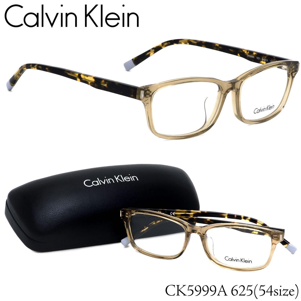 ほぼ全品ポイント15倍~最大43倍+3倍!お得なクーポンも! カルバンクライン Calvin Klein メガネCK5999A 625 54サイズck ウエリントン クリアカラー デミカルバンクライン CalvinKlein メンズ レディース