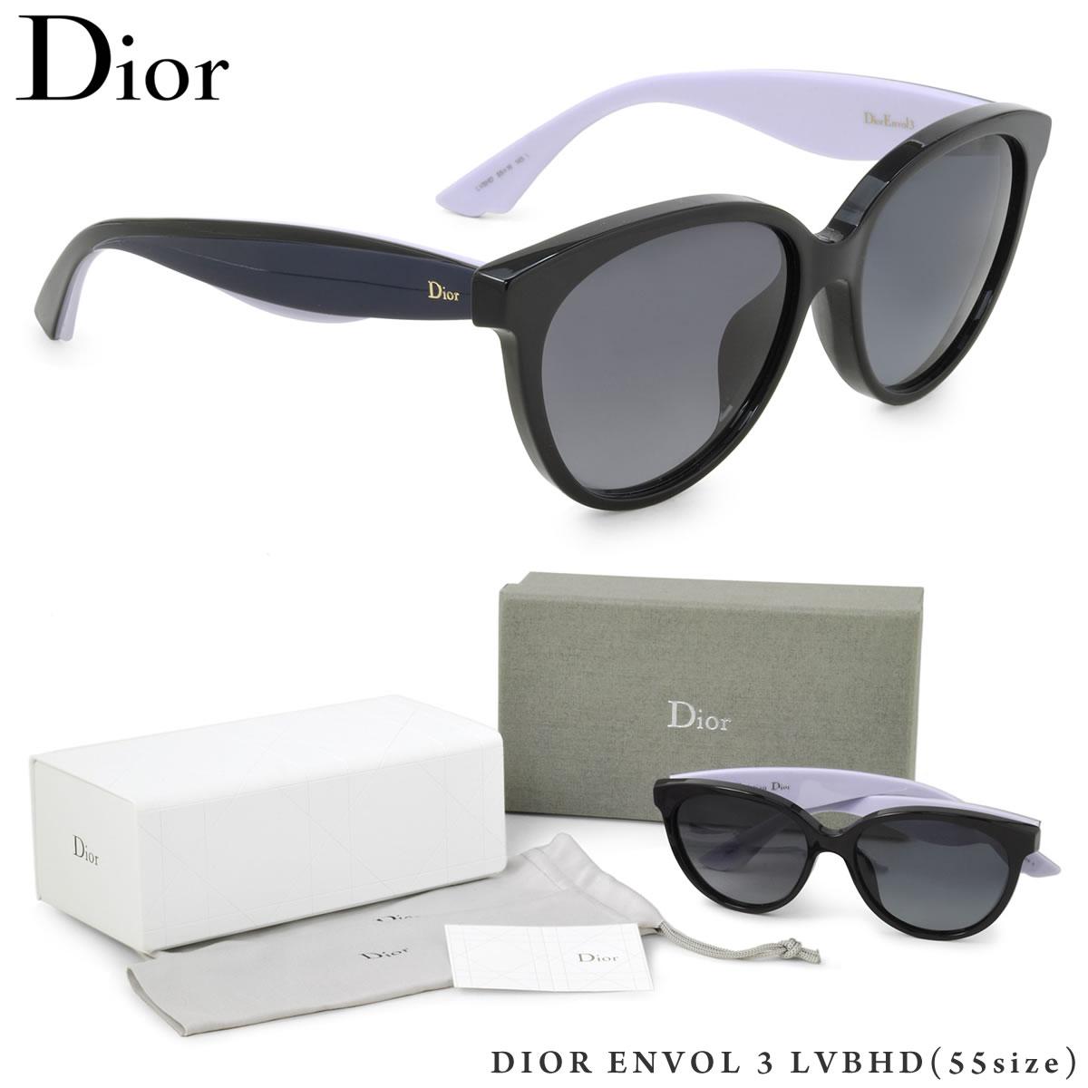 【10月30日からエントリーで全品ポイント20倍】【Dior】(ディオール) サングラス DIOR ENVOL 3 LVBHD 55サイズ バタフライ オンボル ディオール Dior レディース