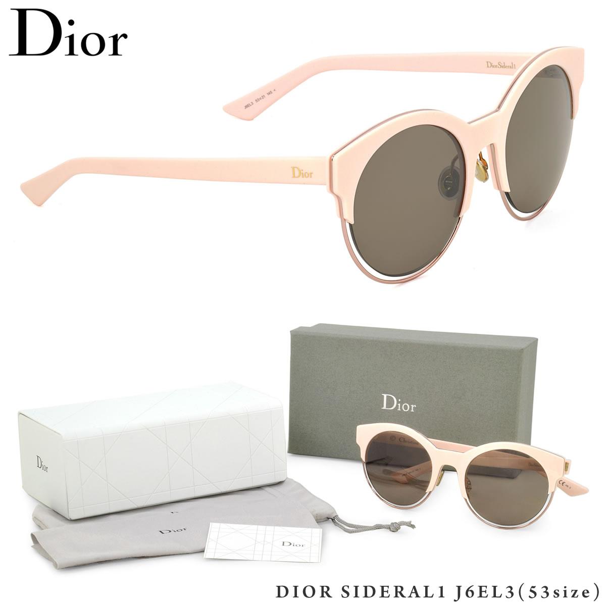 【10月30日からエントリーで全品ポイント20倍】【Dior】 (ディオール) サングラスDIORSIDERAL1 J6EL3 53サイズSIDERAL1 シデラル ラウンド 丸メガネDior レディース