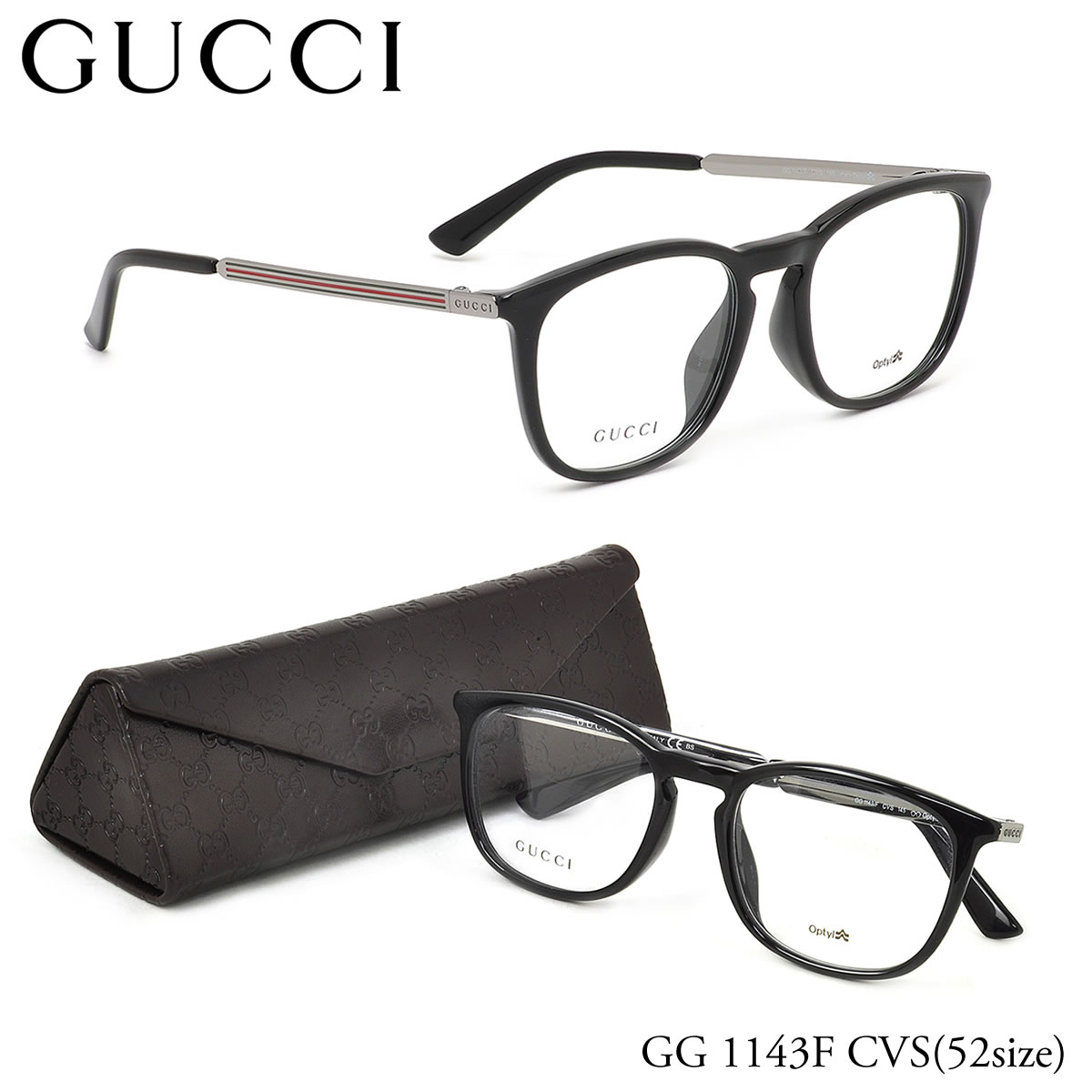 Optical Shop Thats: Point up to eight times! (GUCCI) glasses GG1143F ...