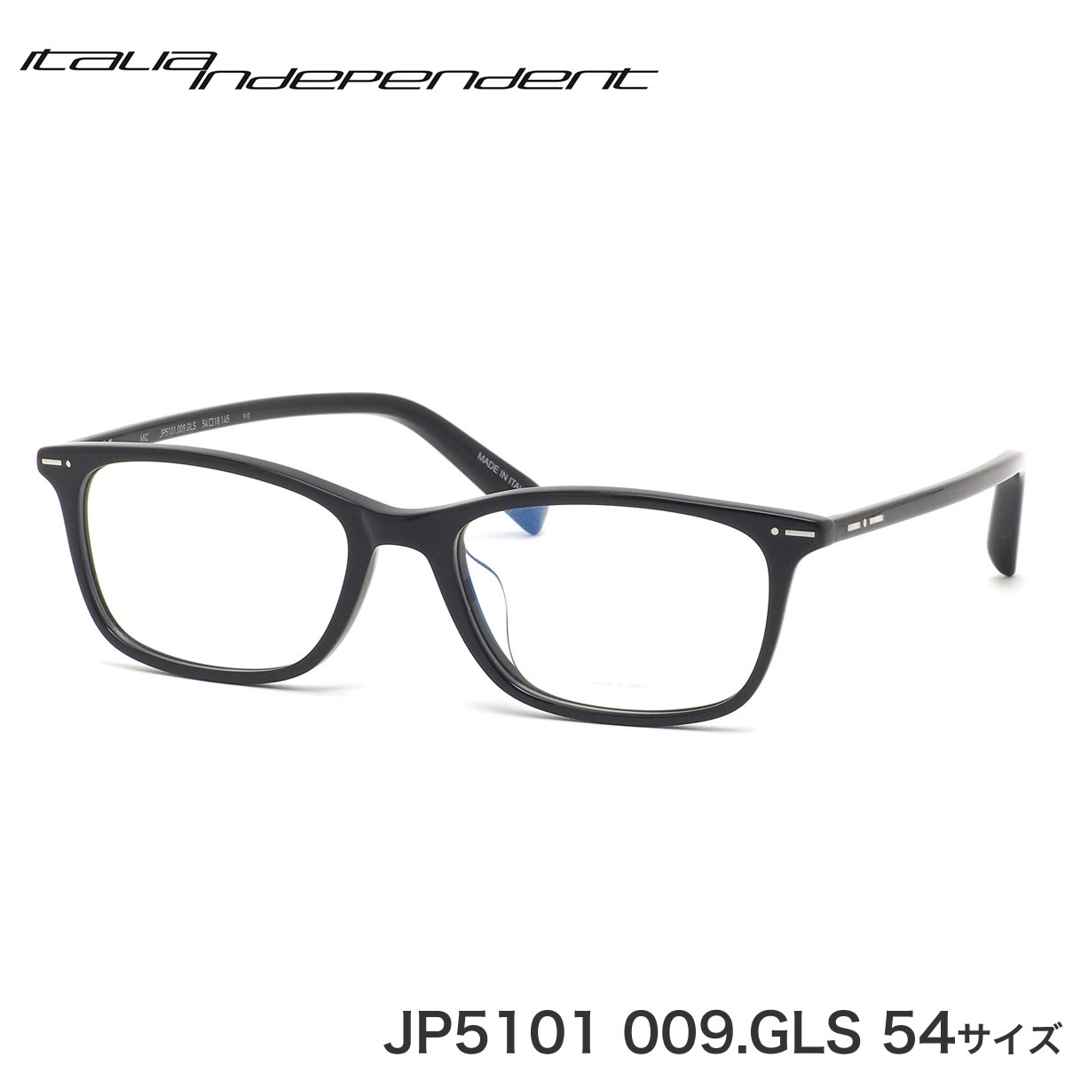 イタリアインディペンデント Italia Independent メガネ JP5101 009.GLS 54サイズ MIC マイク HEXETATE ヘキセテート made in Italy ii メンズ レディース