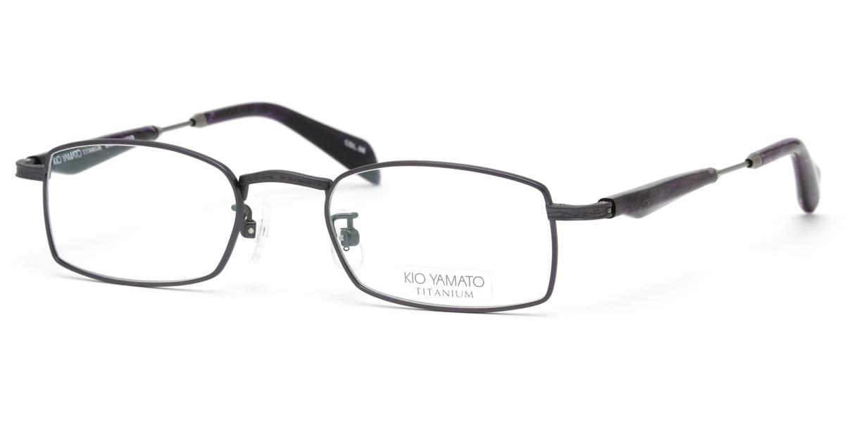 46166b7554 (Kioyamato) glasses frame KT-437 J 06 49 size Pentagon titanium Japan-made  glasses Koyama to KIO YAMATO men women