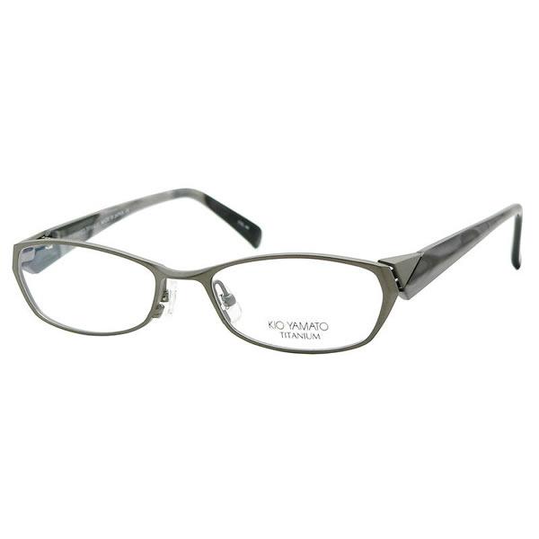 【10月30日からエントリーで全品ポイント20倍】【KIO YAMATO メガネ】キオヤマト メガネフレーム KT-307 46