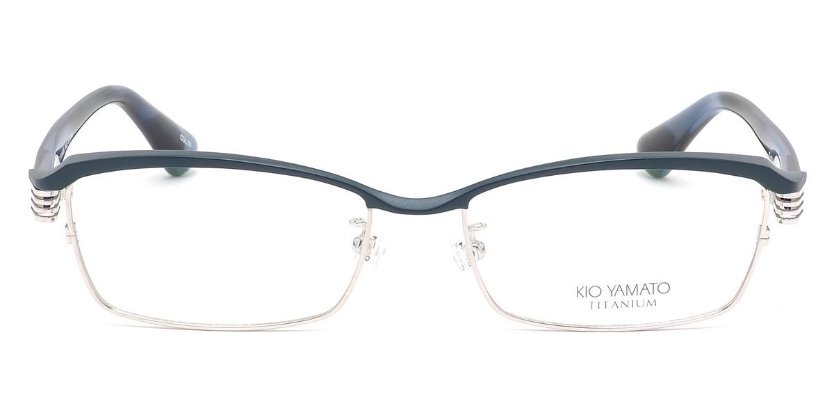 d32971676b (KIO YAMATO) glasses KT443J2 03 55 size Aero glider titanium Japan-made  glasses square KIOYAMATO men s women s