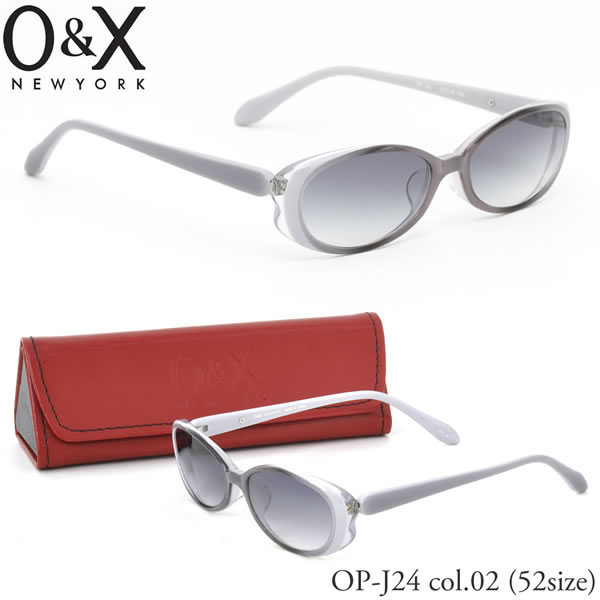 (Oh and x) glasses frames OPJ24 02 52 size oval made in Japan or and x O &  X Womens