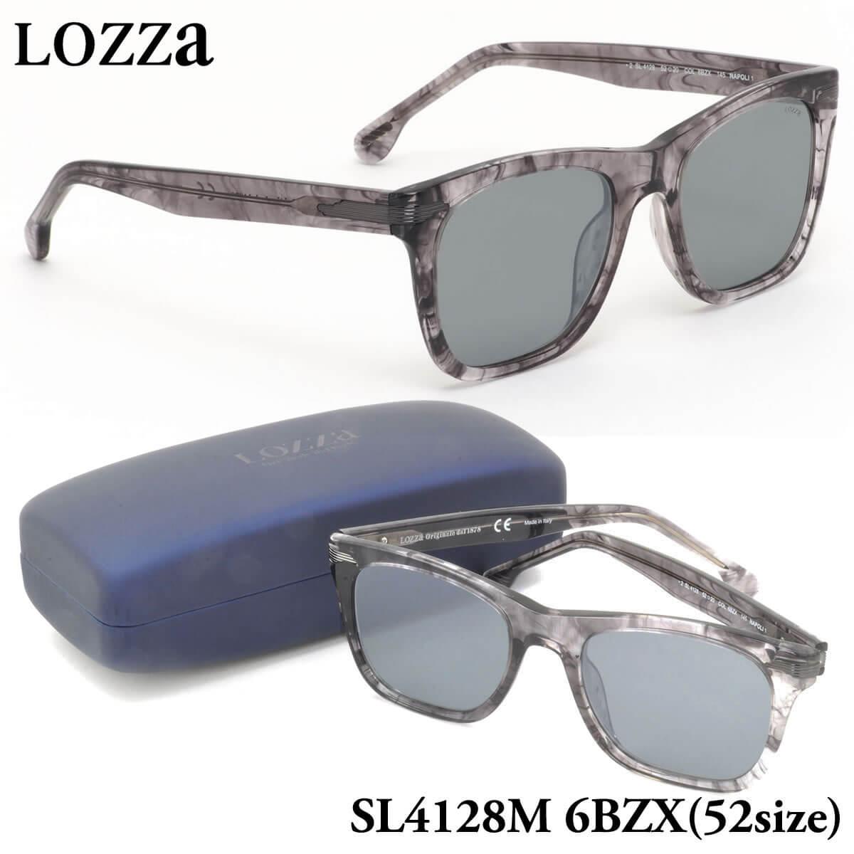 【10月30日からエントリーで全品ポイント20倍】【ロッツァ】 (LOZZA) サングラスSL4128M 6BZX 52サイズNAPOLI 1 ミラーレンズLOZZA メンズ レディース