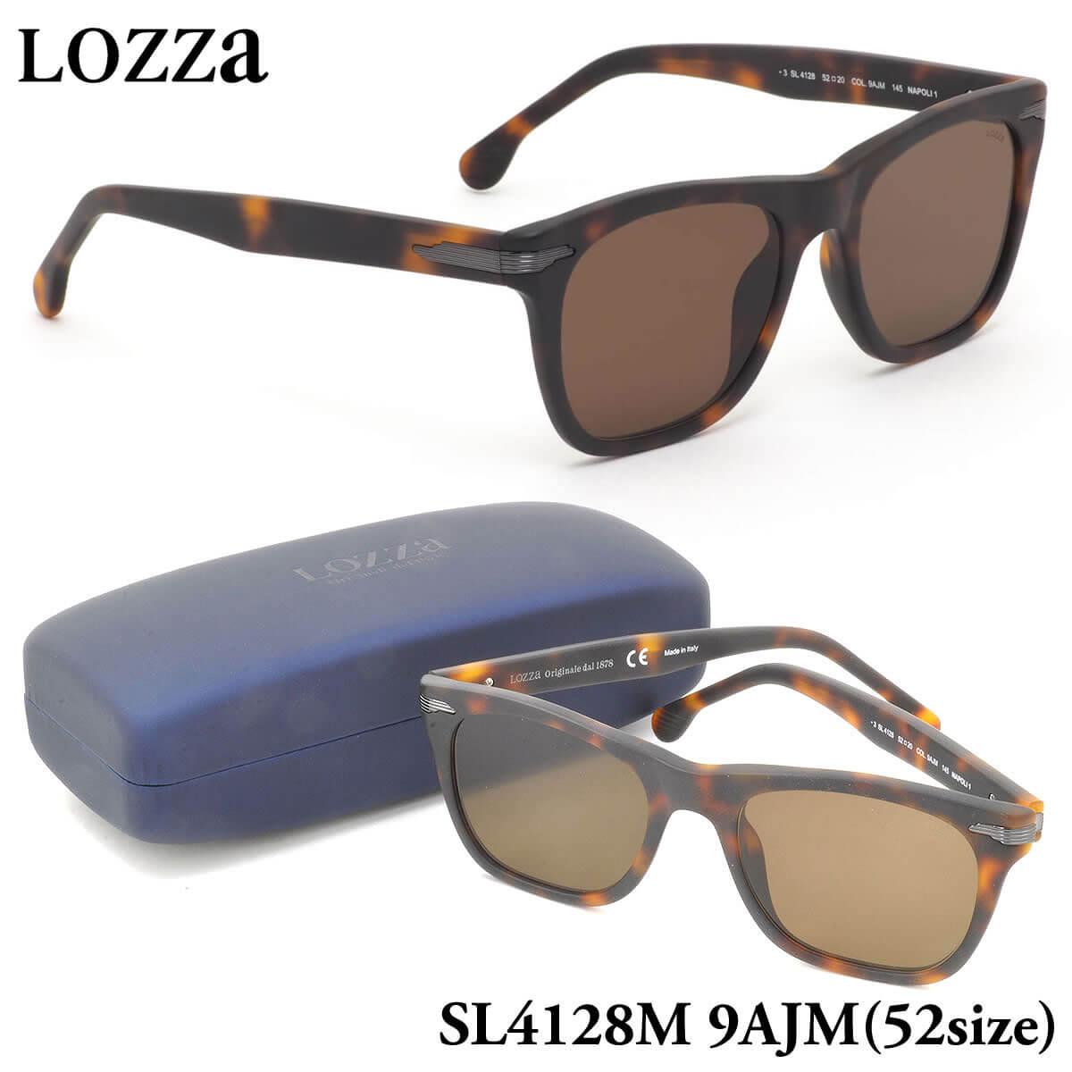 【10月30日からエントリーで全品ポイント20倍】【ロッツァ】 (LOZZA) サングラスSL4128M 9AJM 52サイズNAPOLI 1 LOZZA メンズ レディース