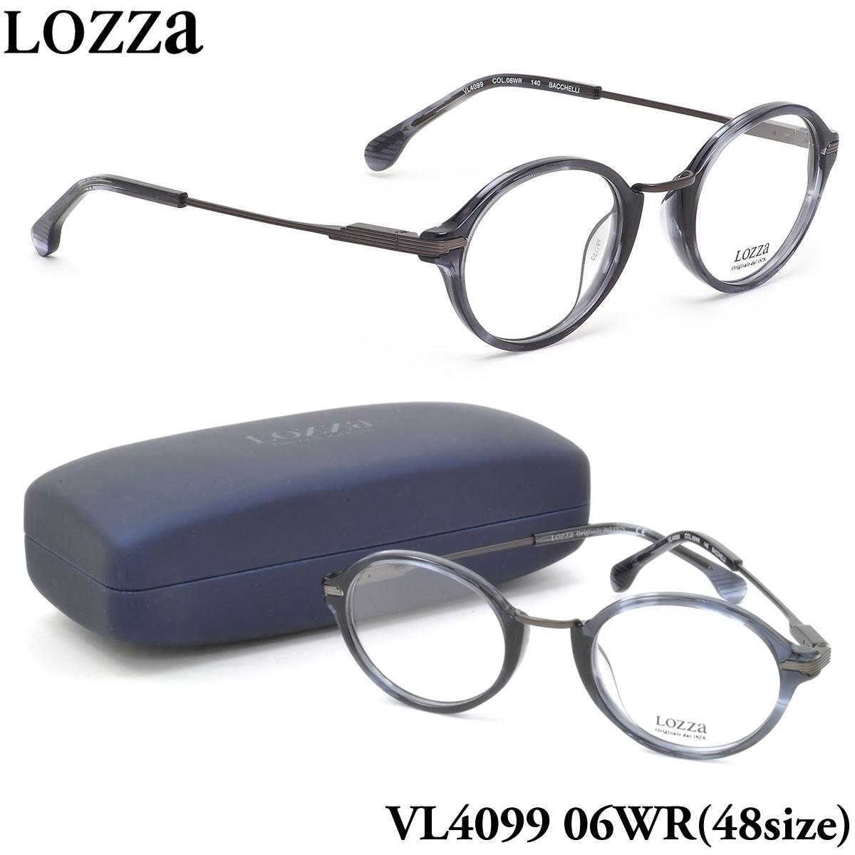 ほぼ全品ポイント15倍~最大43倍+3倍!お得なクーポンも! 【ロッツァ】 (LOZZA) メガネVL4099 06WR 48サイズBACCHELLI LOZZA メンズ レディース
