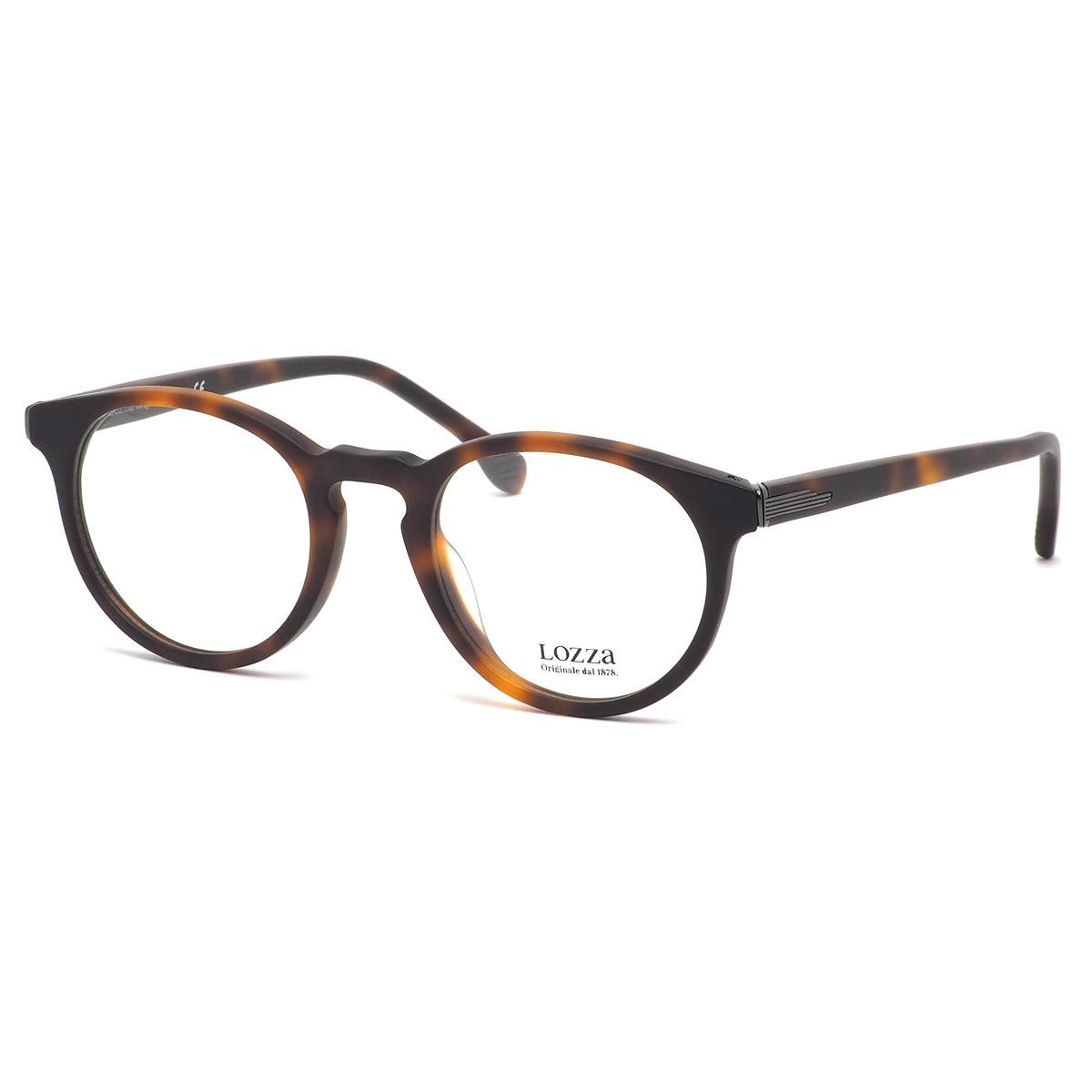 ロッツァ LOZZA メガネ VL4141 9AJM 47サイズ LUCCA2 ルカ ボストン べっ甲 近視 乱視 遠視 老眼 メンズ レディース
