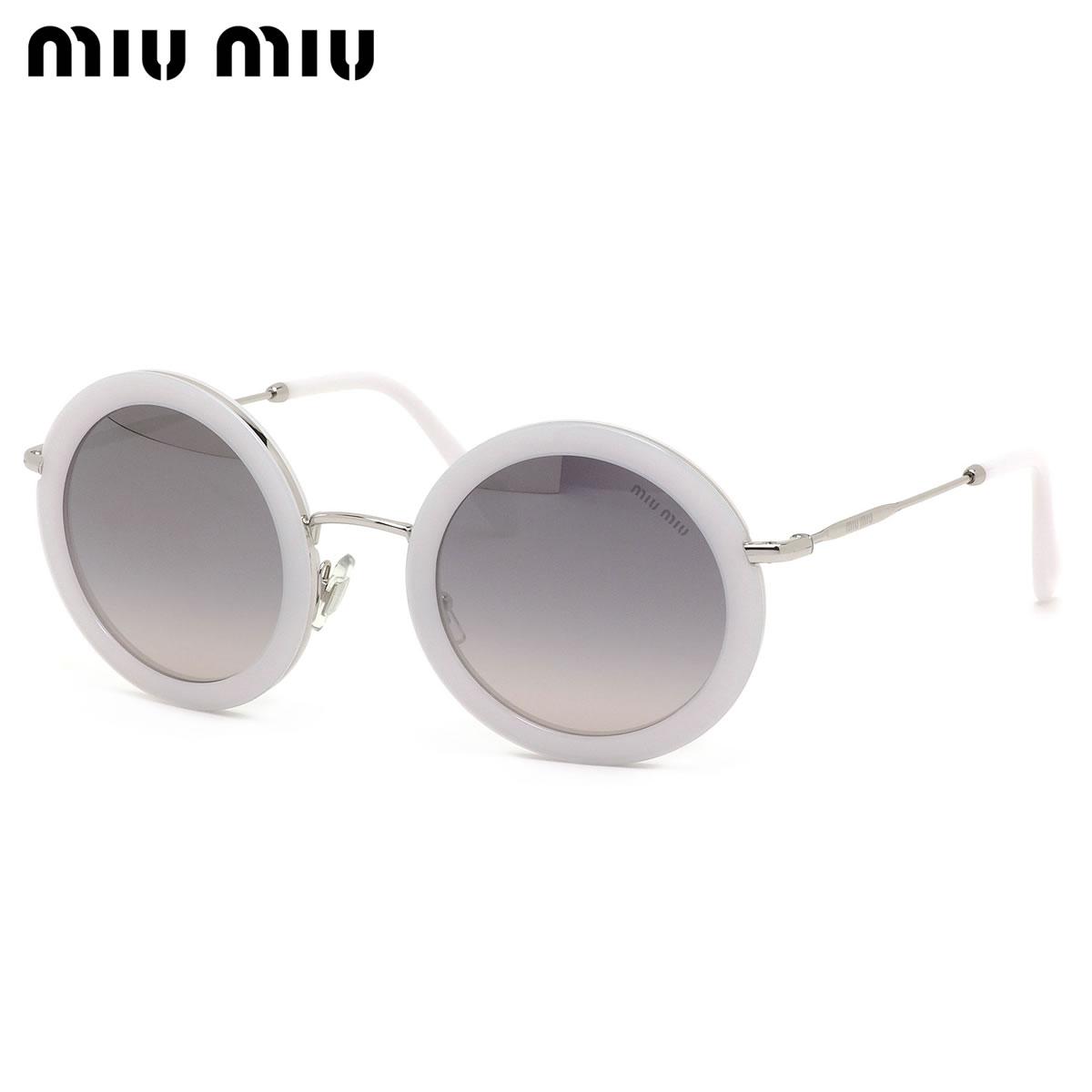 ミュウミュウ MIUMIU サングラス MU59US 133GR0 48サイズ レディース