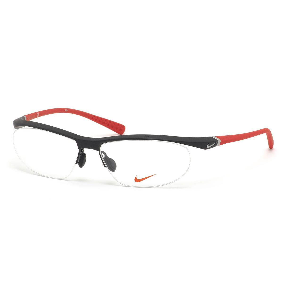 ナイキ NIKE メガネ 7070/2 015 57サイズ VORTEX ボルテックス ナイロール スポーツ メンズ レディース