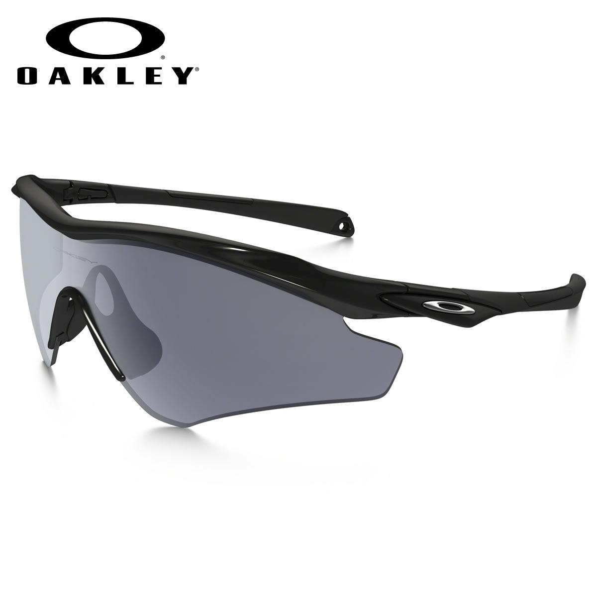 ポイント最大42倍!!お得なクーポンも !! オークリー サングラス M2フレーム XL OAKLEY OO9345-01 M2 FRAME XL ASIA FIT Polished Black / Gray オークレー アジアンフィット メンズ レディース