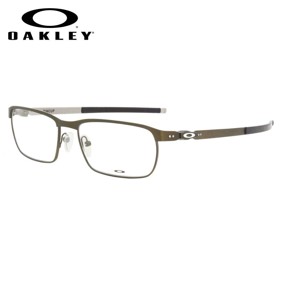 cc8288106e -OAKLEY glasses OX3184-0254 TINCUP Powder Pewter Tin square OAKLEY ITA  eyeglass lens free men women
