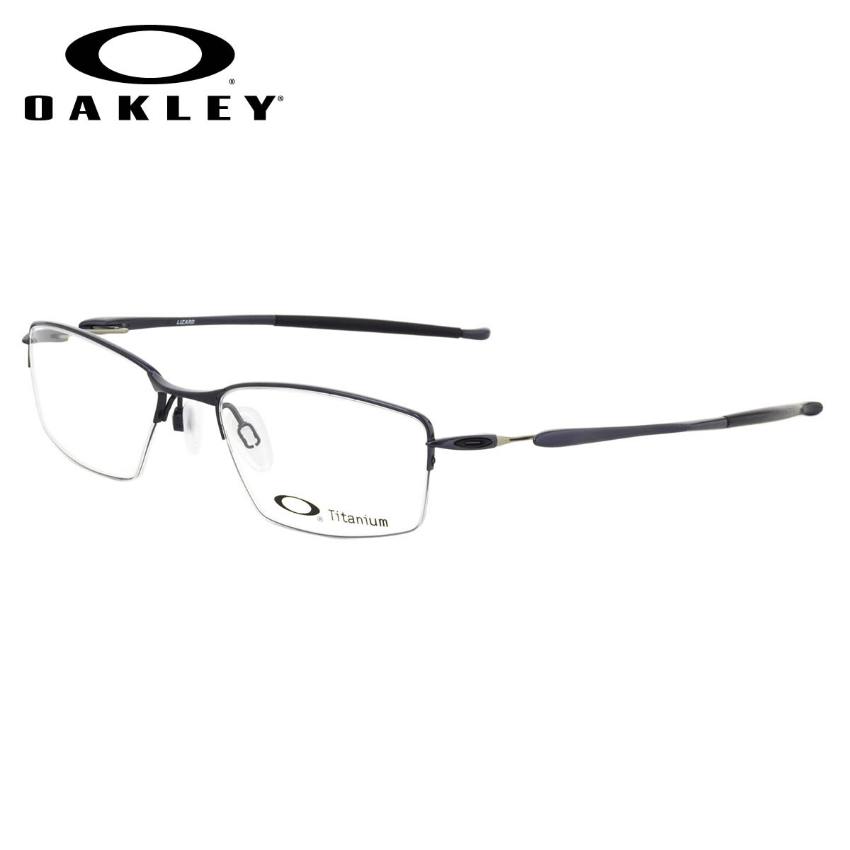 165910974e (OAKLEY) Glasses OX5113-0451 LIZARD Polished Midnight lizard square Ney  roll OAKLEY Date glasses lens for free men gap Dis