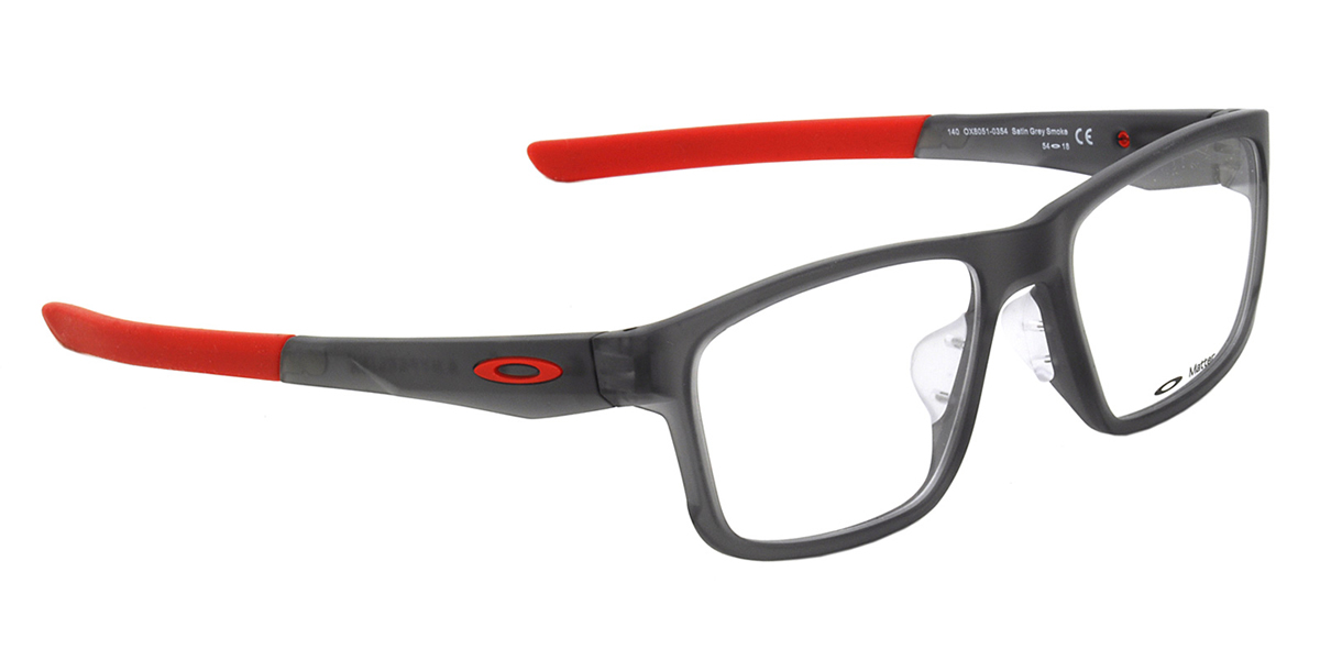 35da6b9fcaafd (OAKLEY) Glasses OX8051-0354 HYPERLINK ASIA FIT Satin Gray Smoke hyperlink  Asia fitting square OAKLEY Date glasses lens for free men gap Dis