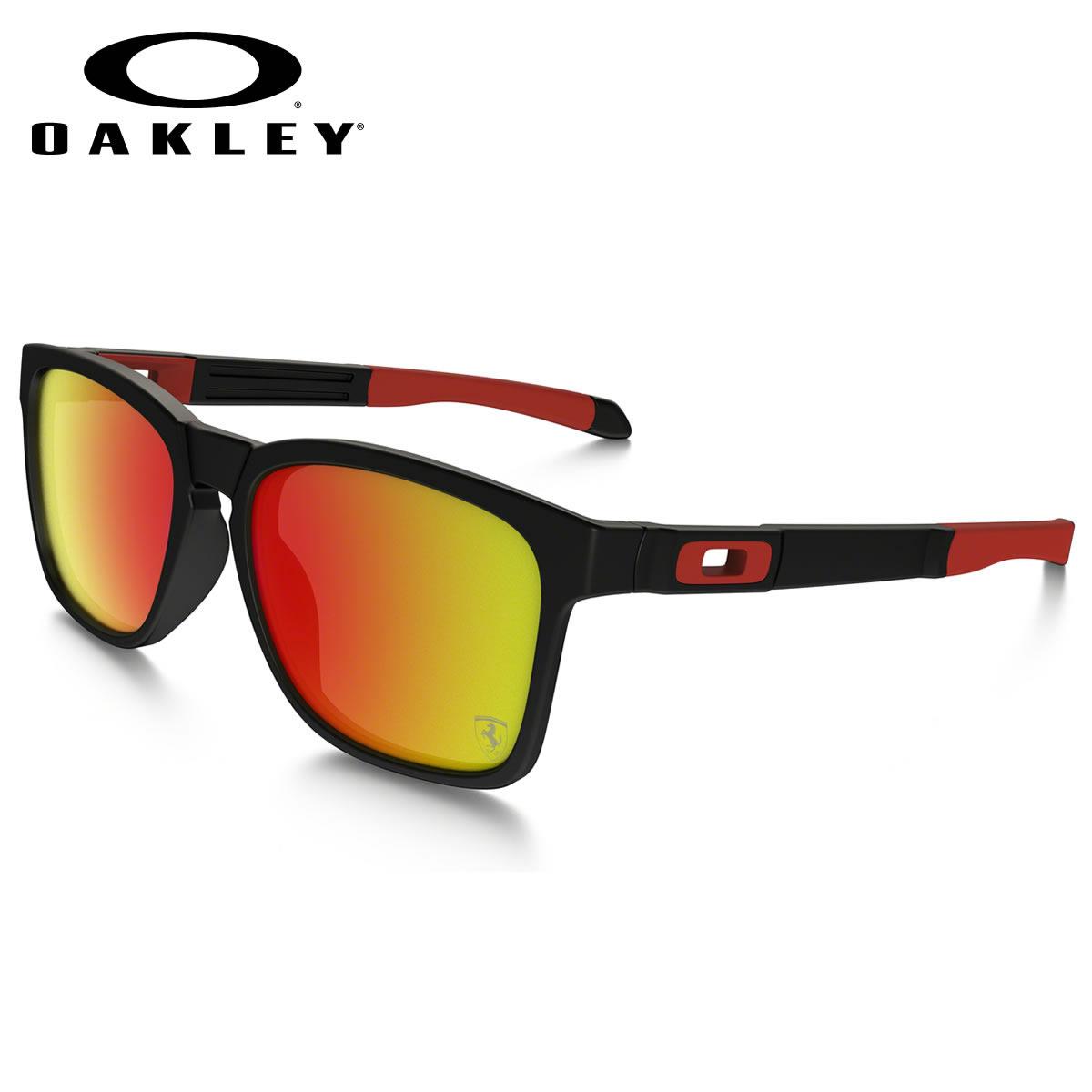 c2ff544433a -OAKLEY sunglasses OO9272-07 CATALYST SCUDERIA FERRARI model catalyst  Scuderia Ferrari OAKLEY men s women s
