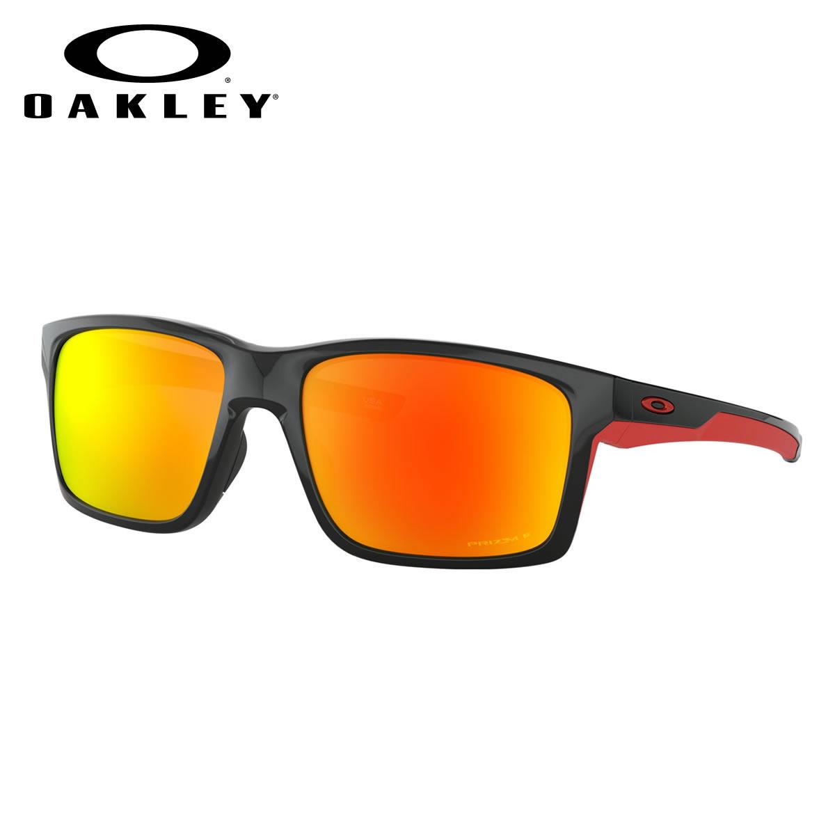 オークリー OAKLEY サングラス OO9264-46-61 MAINLINK XL メインリンクXL Polished Black /Prizm Ruby Polarized オークレー かっこいい 偏光レンズ メンズ レディース