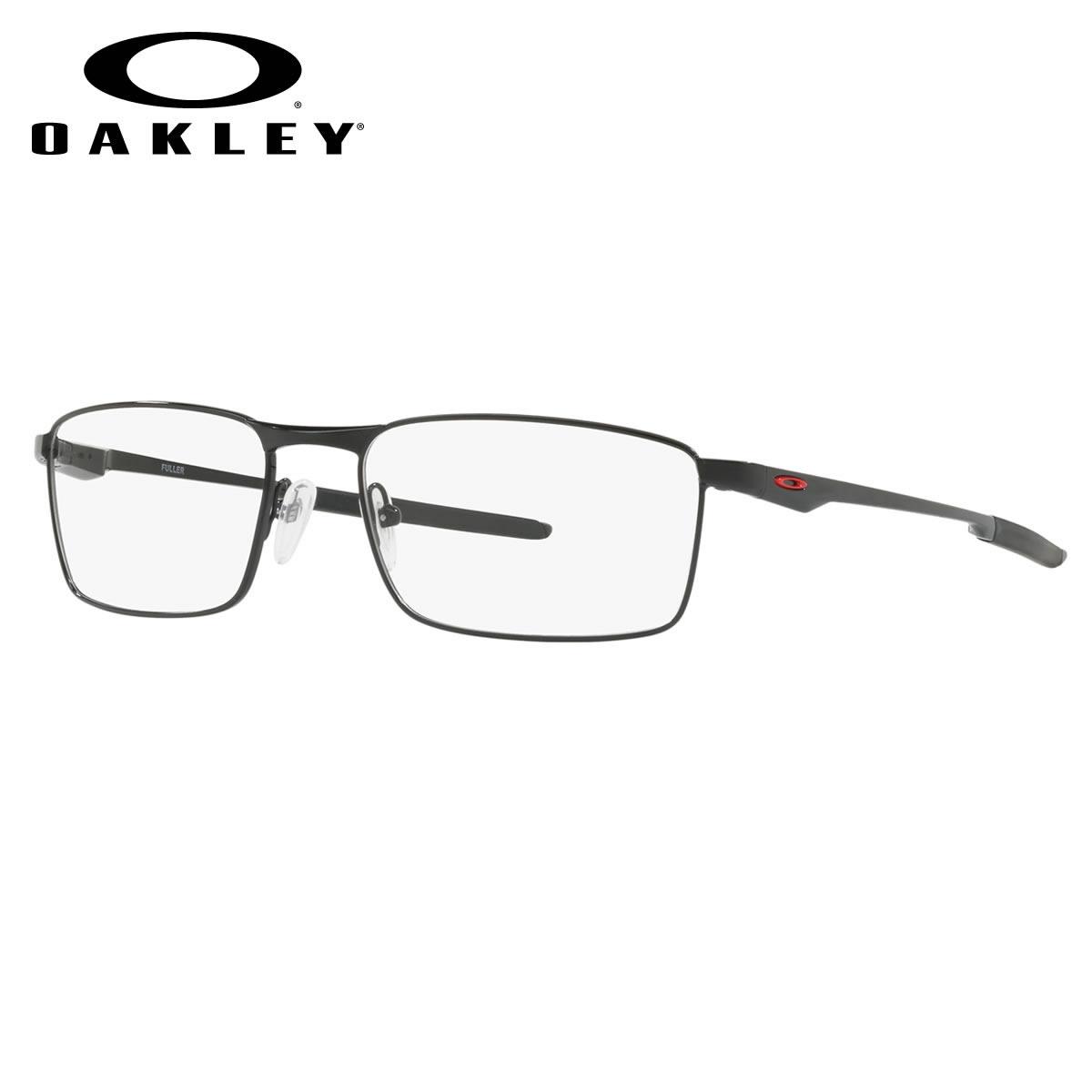 オークリー OAKLEY メガネ OX3227-03 FULLER フラー Pewter オークレー ブラック メンズ レディース