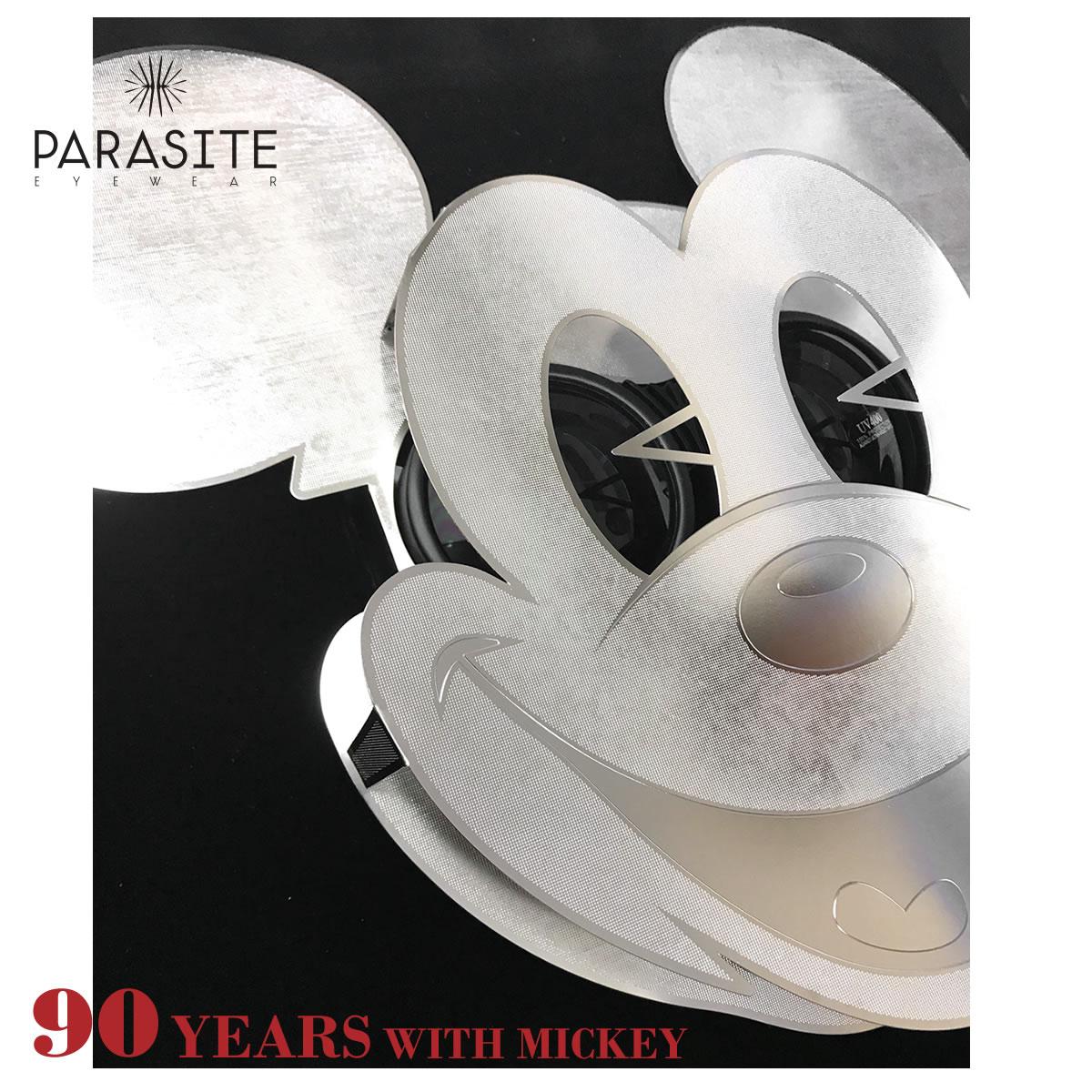 PARASITE パラサイト サングラス MICKEY MASK ミッキー90周年記念モデル ディズニー ミッキーマウス レア マスク 仮面 ゴーグル パラサイト PARASITE ミッキー メンズ レディー