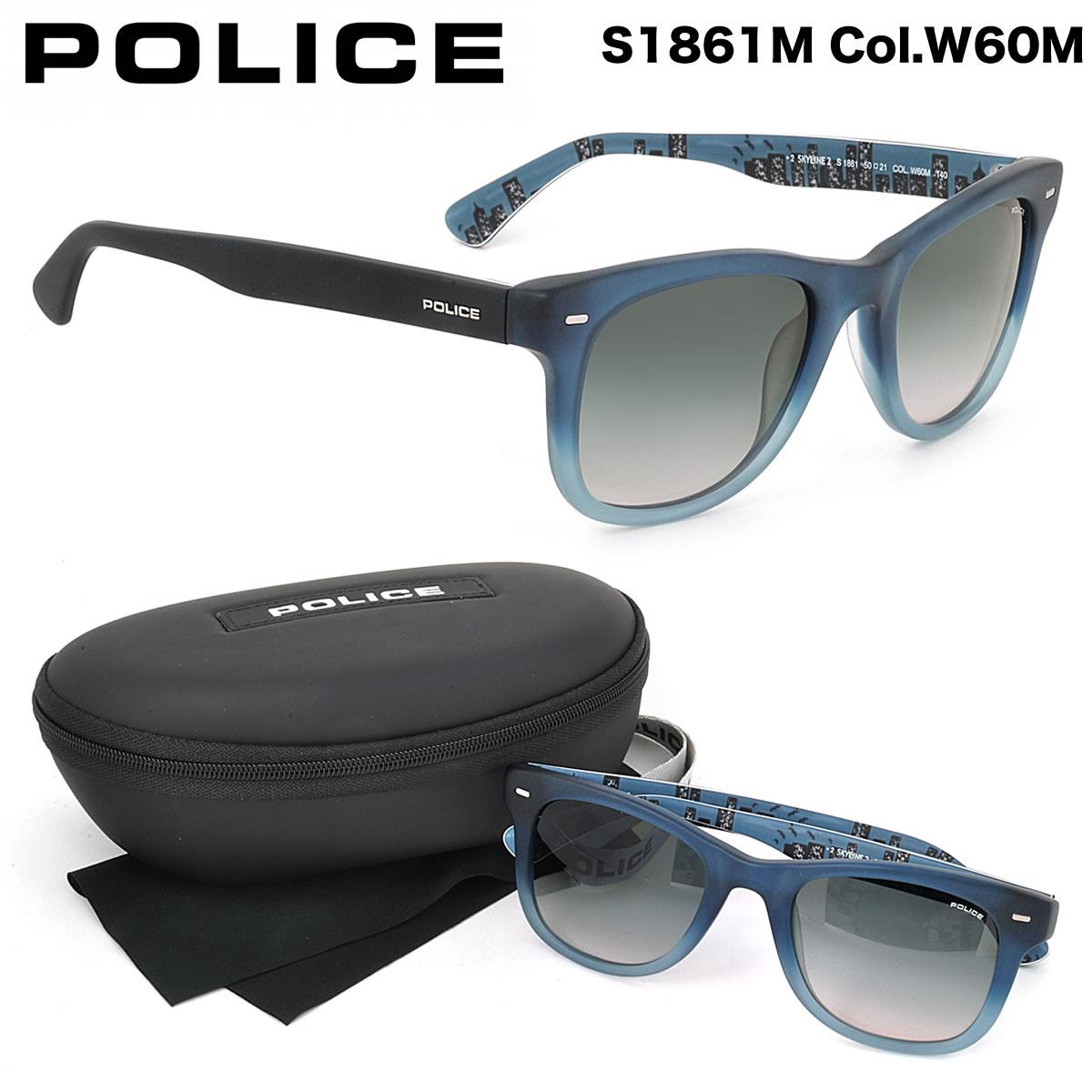 ポイント最大42倍!!お得なクーポンも !! 【POLICE】ポリス サングラス S1861M W60M 50サイズ ポリス POLICE メンズ レディース
