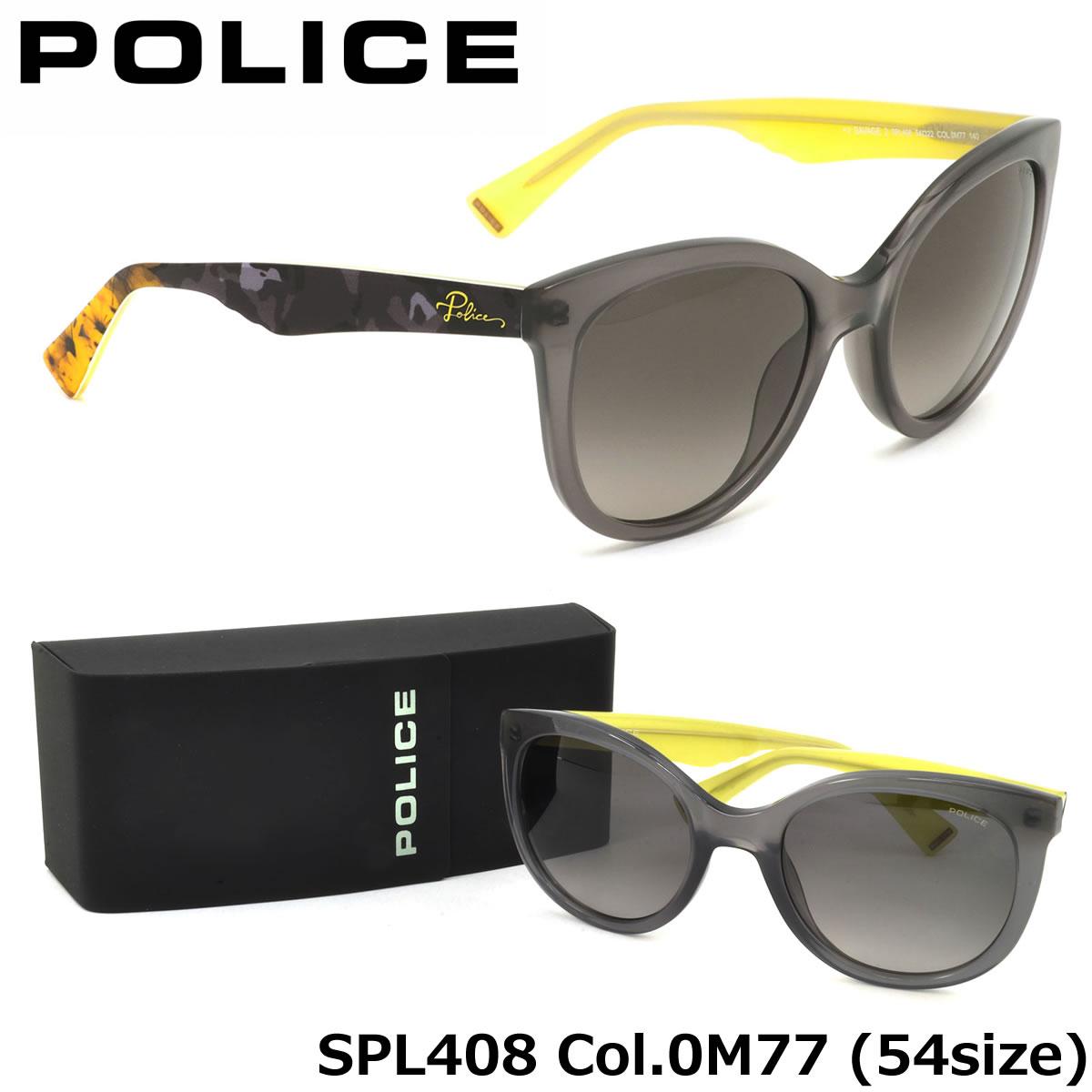 【10月30日からエントリーで全品ポイント20倍】【ポリス】 (POLICE) サングラスSPL408 0M77 54サイズSAVAGE2 キャッツアイ ラウンドPOLICE メンズ レディース