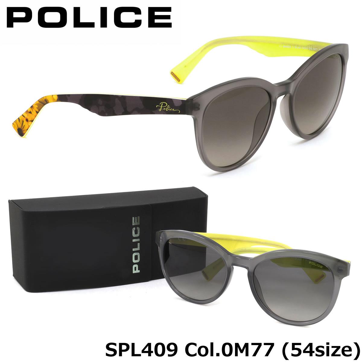 【10月30日からエントリーで全品ポイント20倍】【ポリス】 (POLICE) サングラスSPL409 0M77 54サイズSAVAGE3 キャッツアイ ラウンドPOLICE メンズ レディース