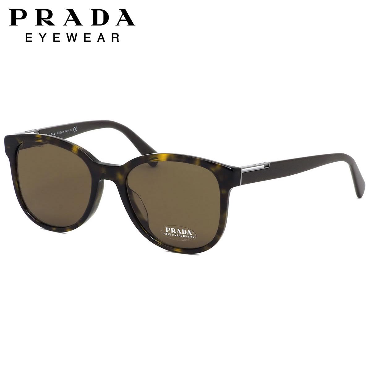 プラダ PRADA サングラス PR08USF 2AU8C1 54サイズ ウエリントン フラット ノーブル モード シンプル プラダ PRADA メンズ レディース