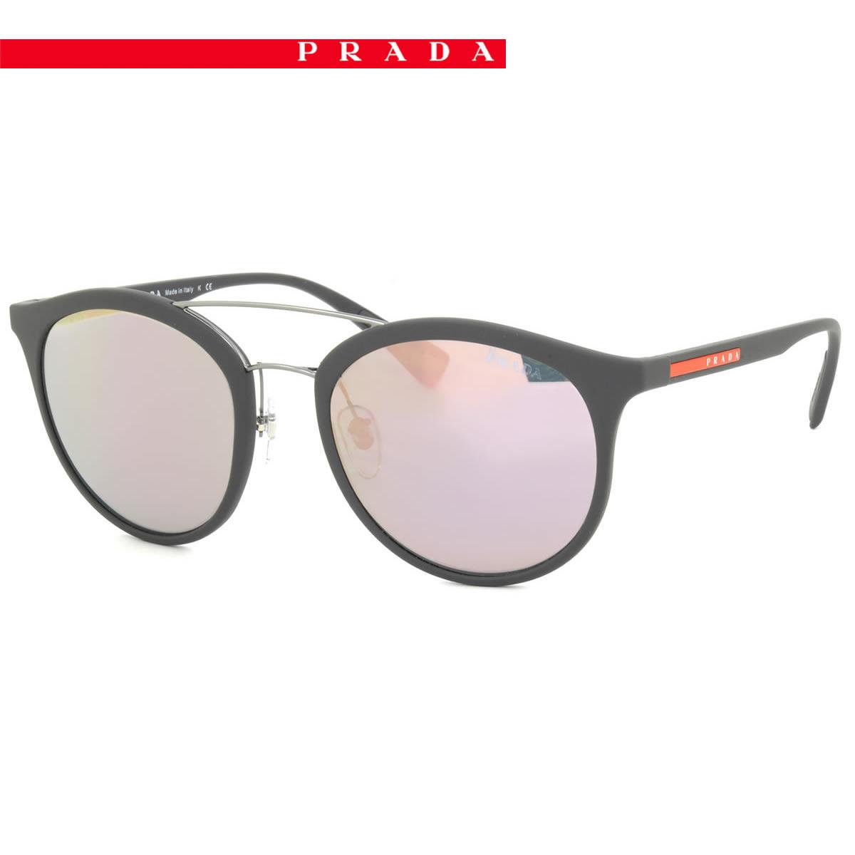 64ef35fcd08 denmark prada polarized womens sunglasses bbd65 0bc9f  sweden prada sport  sunglasses ps04rs tfz5to54 size prada sports two bridge rubber frame  pradasport ...
