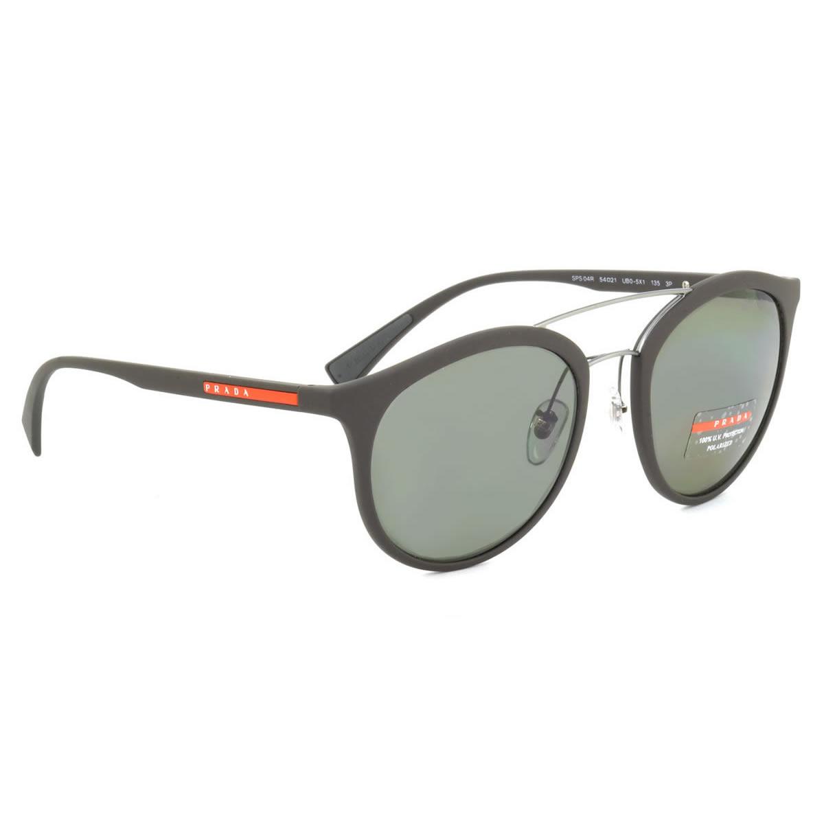 db2e664ba58 (PRADA SPORT) sunglasses PS04RS UB05X1 54 size PRADA SPORTS two-bridge  polarized lenses Polarized Sunglasses rubber frame PRADASPORT men women