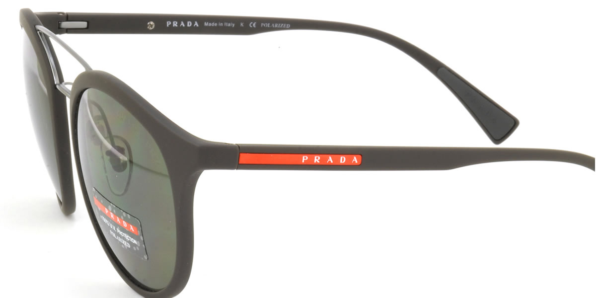 afd3f4409cc2 (PRADA SPORT) sunglasses PS04RS UB05X1 54 size PRADA SPORTS two bridge  polarizing lens polarization sunglasses rubber frame PRADASPORT men ...